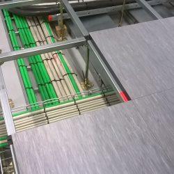 Installationsgulve udføres